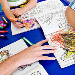 picture of coloring, disctraction adhd