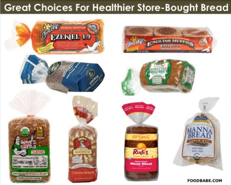 Healthier Bread Options